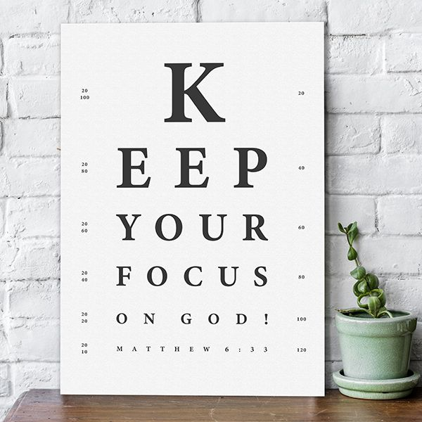 Poster s/w - Keep your focus