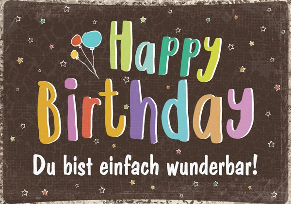 Mini - Happy Birthday - wunderbar