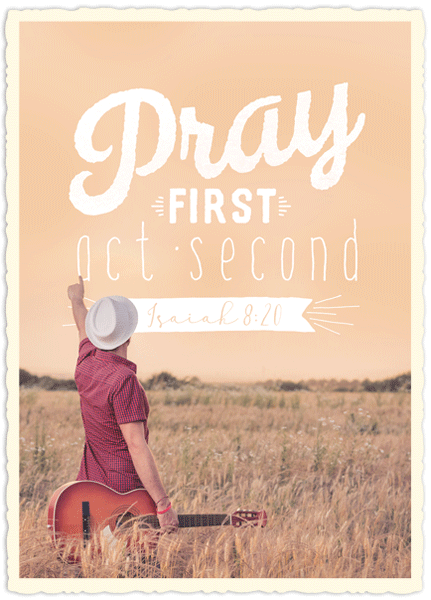 Big Blessing - Pray first